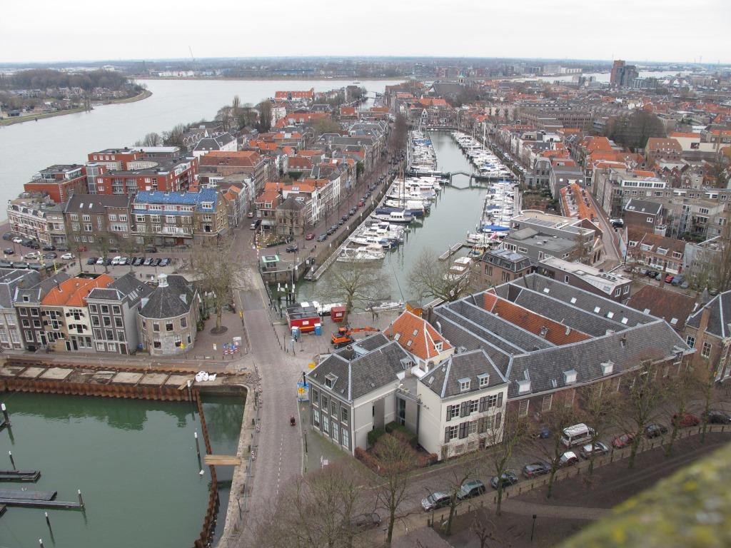 View of Dordrecht From Church Tower